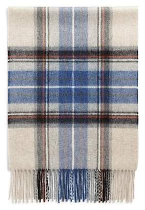 Bloomingdale's The Men's Store at Exploded Tartan Cashmere Scarf - 100% Exclusive