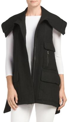 Wool Blend Utilitarian Vest $59.99 thestylecure.com
