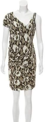 Just Cavalli Satin Mini Dress