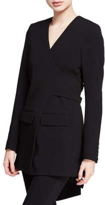 Diane von Furstenberg Cali Wrap Blazer Jacket