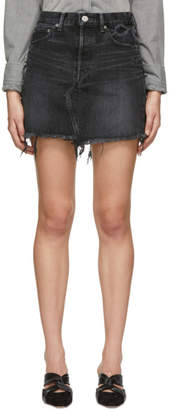 Moussy (マウジー) - Moussy Vintage ブラック Libby ミニスカート