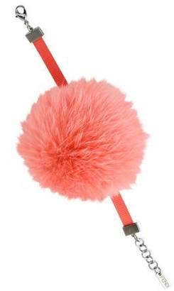 Fendi Fur Pom-Pom Bracelet
