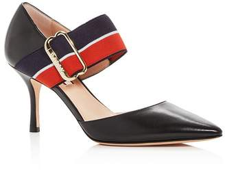 Bally Bette Pointed-Toe Mary-Jane Pumps