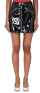 Rag & Bone Women's Patent Leather Miniskirt-Black