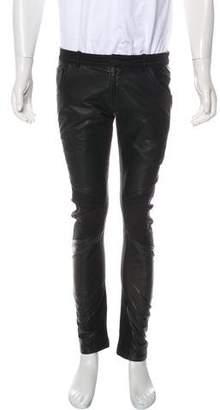 Skingraft Leather-Trimmed Renegade Pants