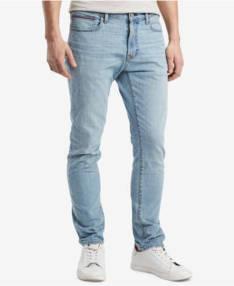 Tommy Hilfiger Men's Slim-Fit Tapered Denim Jeans, Created for Macy's