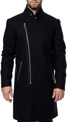 Maceoo Zip Wool & Cashmere Coat