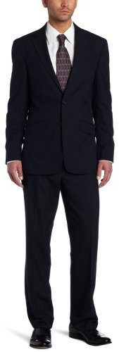 Kenneth Cole Reaction Men's Navy-Stripe Suit Separate Jacket