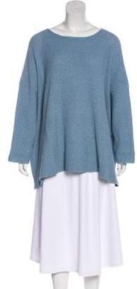eskandar Long Sleeve Knit Sweater