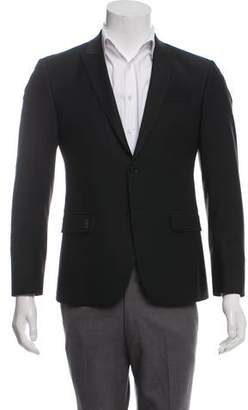 Couture Billionaire Italian Virgin Wool Blend Peak-Lapel Blazer