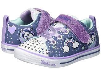 Skechers Twinkle Toes - Sparkle Lite Unicorn Craze 10988N Lights (Toddler)