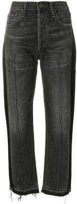 Citizens of Humanity cropped raw hem jeans