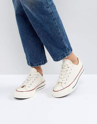 32f29edea494 Converse Chuck Taylor All Star  70 Trainers In Parchment