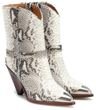 Isabel Marant Lamsy leather ankle boots