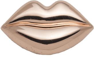 Alexis Bittar Rose Gold Tone Lips Slide