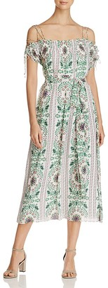 Tory Burch Asilomar Silk Dress $650 thestylecure.com