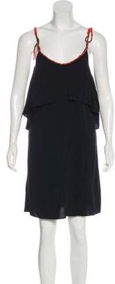 Vix Paula Hermanny Sleeveless Mini Dress