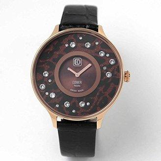 Cover コヴァー TREND PIEDRA STARS Co158.11 ブラウン 女性用腕時計【正規輸入品】