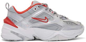Nike Silver M2K Tekno Sneakers
