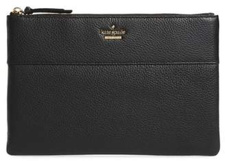 Kate Spade Jackson Street Large Mila Leather Pouch