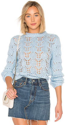 Tularosa Open Weave Sweater
