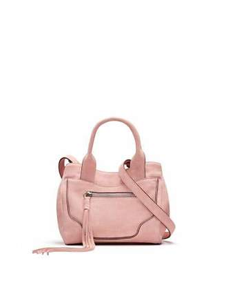 Elizabeth and James Andie Mini Suede Satchel Bag, Pink $375 thestylecure.com
