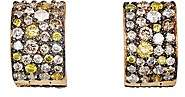 Ileana Makri Women's Cuff Hoop Earrings-Yellow Gold
