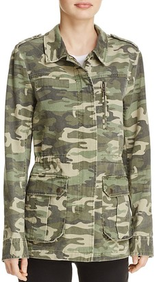 Sanctuary Full Metal Camo Print Field Jacket $159 thestylecure.com