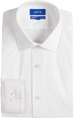 Apt. 9 Men's Slim-Fit Stretch Cut-Away Collar Dress Shirt