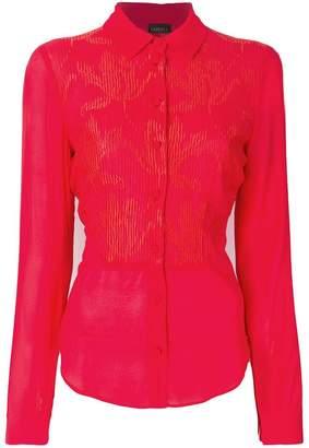 La Perla floral patterned shirt