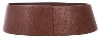 Brunello Cucinelli Leather Wide Belt w/ Tags