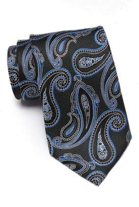 Nordstrom Rack Silk Westview Paisley Tie - XL Length