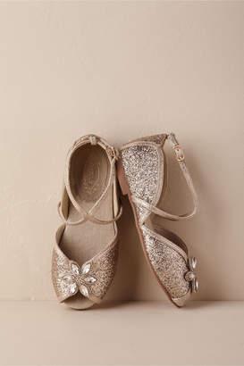 56753346331b Joyfolie Aubree Flower Girl Glitter Flats