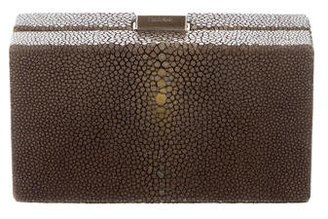 Calvin Klein Stingray Box Clutch $345 thestylecure.com