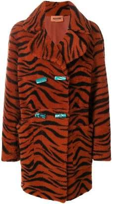 Missoni tiger print coat