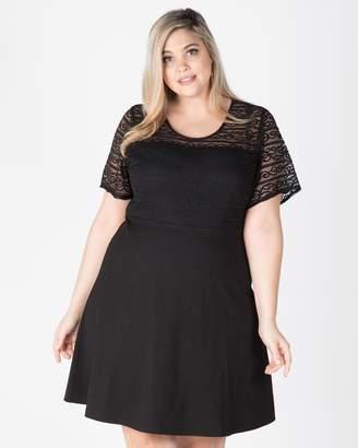 Daisy Lace Bodice Dress