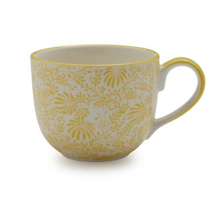 Sur La Table Lotus Floral Mug
