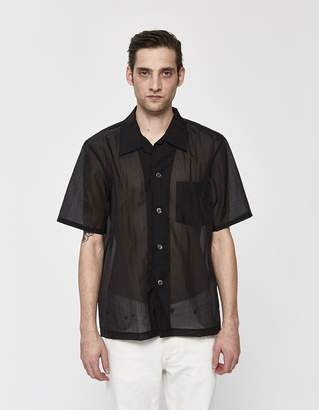 Our Legacy Box Net Nylon Shirt in Black
