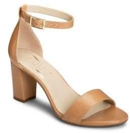 Aerosoles Bird Of Paradise Leather Ankle-Strap Sandals