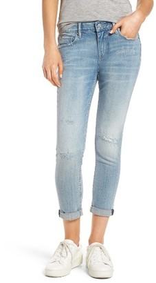 Women's Vigoss Thompson Ripped Crop Tomboy Jeans $68 thestylecure.com