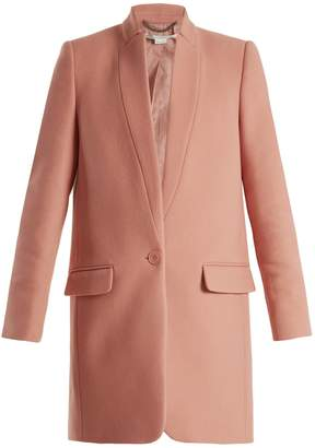Stella McCartney Bryce single-breasted wool-blend coat