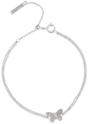 Olivia Burton 3-D Butterfly Chain Bracelet