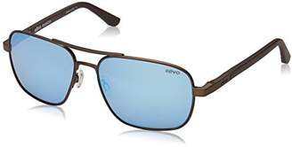 Revo Freeman RE 1012 02 BL Polarized Rectangular Sunglasses