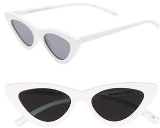 Le Specs ADAM SELMAN X LUXE Last Lolita 49mm Cat Eye Sunglasses