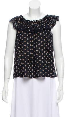 Ulla Johnson Sleeveless Smock Top