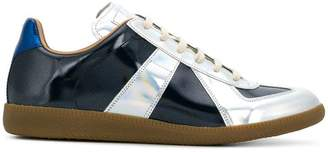 Maison Margiela low-top metallic Replica sneakers