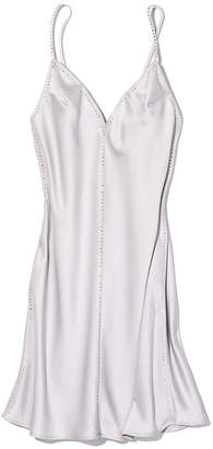 Victoria's Secret Dream Angels Satin & Rhinestone Slip Dress