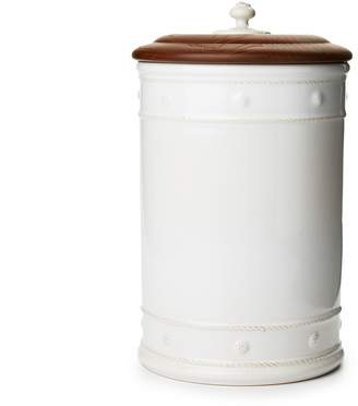 Juliska Berry & Thread 13 Canister with Wooden Lid