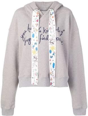 Mira Mikati Fairytale embroidered hoodie