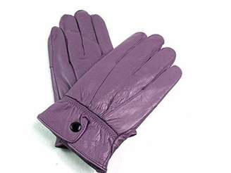 EMPORIUM LEATHER The Leather Emporium Women's Soft Leather Gloves Fully Fleece Lined